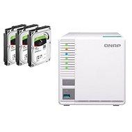QNAP TS-328 + 3x4TB HDD RAID5 - Adattároló eszköz