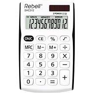 REBELL SHC 312 fehér/fekete - Számológép