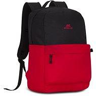 """RIVA CASE 5560 15.6"""" - fekete/piros - Laptop hátizsák"""