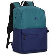 """RIVA CASE 5560 15.6"""" - zöld/kék - Laptop hátizsák"""