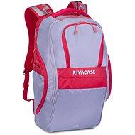 """RIVA CASE 5265 17.3"""" - szürke/piros - Laptop hátizsák"""