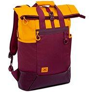 """RIVA CASE 5321 15.6"""" - sárga/borvörös - Laptop hátizsák"""