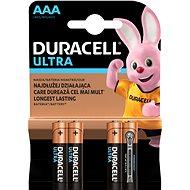 Duracell Ultra AAA 4 db - Eldobható elem