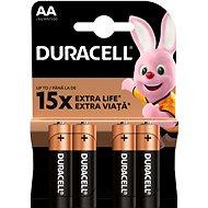 Akkumulátor Duracell StayCharged AA - 2500 mAh 4 db - Nabíjecí baterie