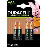 Duracell StayCharged AAA - 900 mAh, 4 darab - Akkumulátor