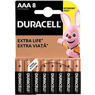Duracell AAA Basic 8 db - Eldobható elem