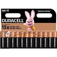 Eldobható elem Duracell Basic AA 12 db
