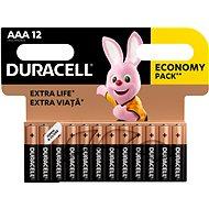 Basic Duracell AAA 12 db - Eldobható elem