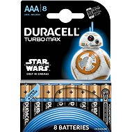 Duracell Turbo Max AAA 8 db (StarWars Edition) - Akkumulátor