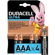 Duracell Ultra AAA - 4 db - Eldobható elem