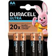 Eldobható elem Duracell Ultra AA - 4 db