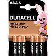 Duracell Basic AAA 6 db - Eldobható elem