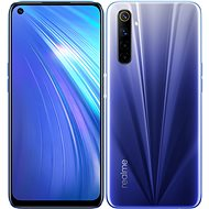 Realme 6 Dual SIM 64GB - kék - Mobiltelefon