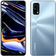 Realme 7 Pro Dual SIM 8 + 128 GB ezüst - Mobiltelefon