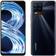Realme 8 DualSIM 4 + 64GB Punk fekete - Mobiltelefon