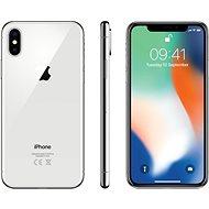iPhone X 64GB, ezüstszínű - Mobiltelefon