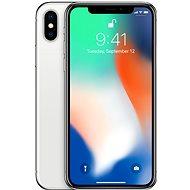 iPhone X 64GB ezüst - Mobiltelefon