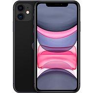 Felújított iPhone 11 128 GB fekete - Mobiltelefon