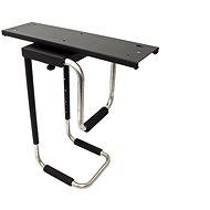 OEM asztallap alatti PC tartó, forgó, fekete, 30 kg-ig - Asztali monitorállvány