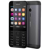 Nokia 230 Dual SIM, fekete - Mobiltelefon