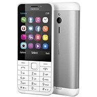 Nokia 230 Dual SIM, fehér - Mobiltelefon