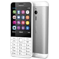 Nokia 230, világos ezüst - Mobiltelefon