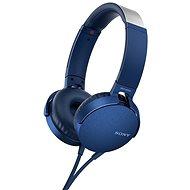 Sony MDR-XB550AP kék - Fej-/fülhallgató