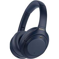 Sony Hi-Res WH-1000XM4, kék, 2020-as modell - Vezeték nélküli fül-/fejhallgató