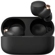 Sony True Wireless WF-1000XM4, fekete, 2021-es modell - Vezeték nélküli fül-/fejhallgató