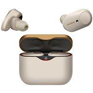 Sony WF-1000XM3 ezüst - Vezeték nélküli fül-/fejhallgató