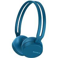 Sony WH-CH400 kék - Mikrofonos fej-/fülhallgató