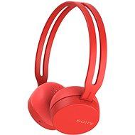 Sony WH-CH400 piros - Mikrofonos fej-/fülhallgató