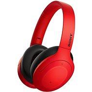 Sony Hi-Res WH-H910N piros-fekete - Vezeték nélküli fül-/fejhallgató