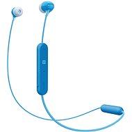 Sony WI-C300 kék - Vezeték nélküli fül-/fejhallgató