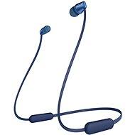 Sony WI-C310, kék - Mikrofonos fej-/fülhallgató