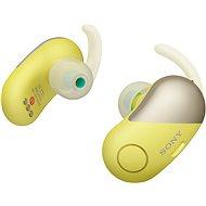 Sony WF-SP700N sárga - Vezeték nélküli fül-/fejhallgató