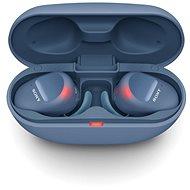 Sony True Wireless WF-SP800N, kék - Vezeték nélküli fül-/fejhallgató