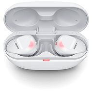 Sony True Wireless WF-SP800N, fehér - Vezeték nélküli fül-/fejhallgató