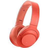 Sony Hi-Res WH-H900N piros - Mikrofonos fej-/fülhallgató
