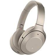 Sony Hi-Res WH-1000XM2 bézs - Mikrofonos fej-/fülhallgató