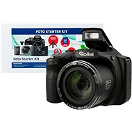 Rollei Powerflex 350, fekete + Alza Foto Starter Kit - Digitális fényképezőgép