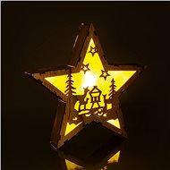 RETLUX RXL 321 fa csillag, őzek 6LED WW - Világító csillag