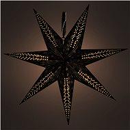 RETLUX RXL 342 csillag, fekete 10LED WW - Világító csillag