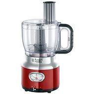 Russell Hobbs 25180-56 Retro Food Processor Red - Konyhai robotgép