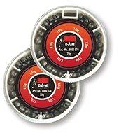 DAM Split Shot adagoló durva 0,6-1,25 g (70 g) - Sörétólom