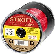 Stroft: Horgászzsinór Color Red 500 m - Horgászzsinór