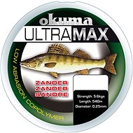Okuma Ultramax Zander Gray - Horgászzsinór