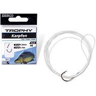 Zebco Trophy Carp Hook-to-Nylon 6-os méret 0,28mm 70cm 8db