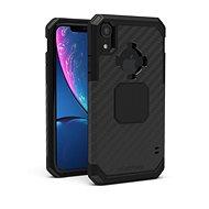 Rokform Rugged - iPhone Xr modellekhez, fekete színű - Mobiltelefon hátlap