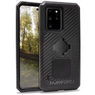 Rokform Rugged - Samsung Galaxy S20 Ultra fekete színű készülékekhez - Mobiltelefon hátlap